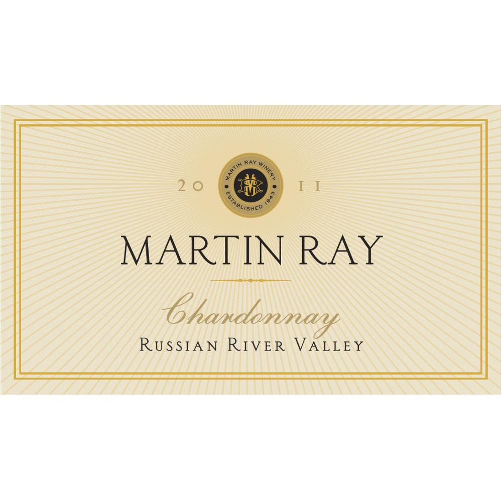 Martin Ray Russian River Valley Chardonnay 2011 Front Label