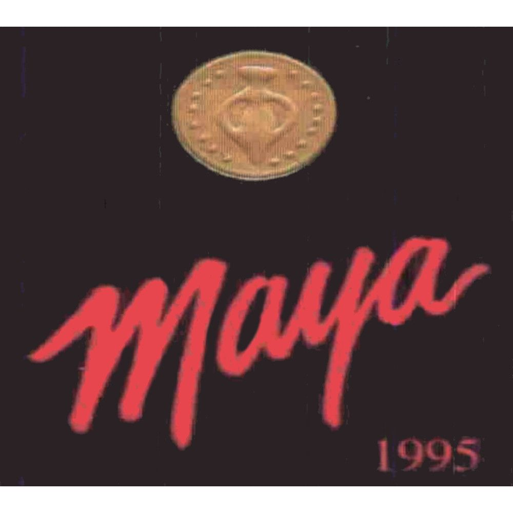Dalla Valle Maya Proprietary Red Blend 1995 Front Label
