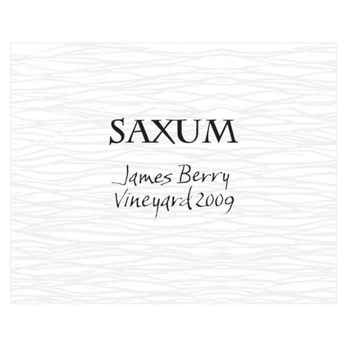 Saxum James Berry Vineyard 2009 Front Label