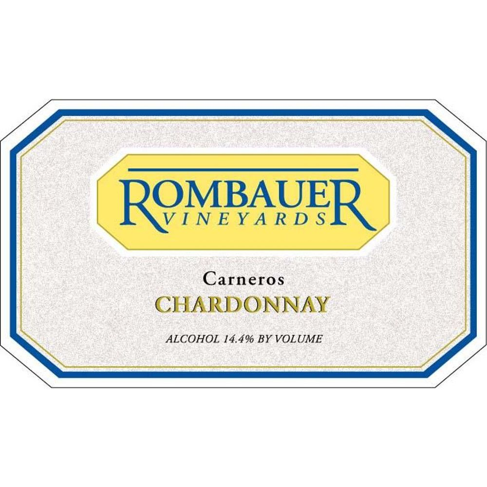 Rombauer Chardonnay (375ML half-bottle) 2011 Front Label
