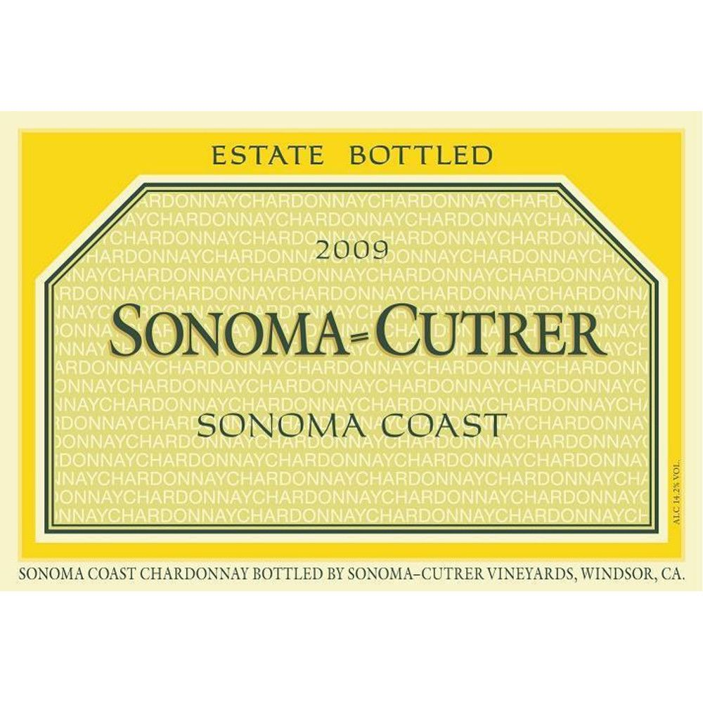 Sonoma-Cutrer Sonoma Coast Chardonnay (375ML half-bottle) 2009 Front Label