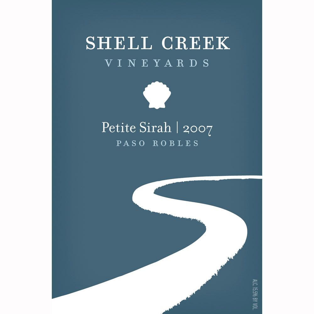 Shell Creek Petite Sirah 2007 Front Label