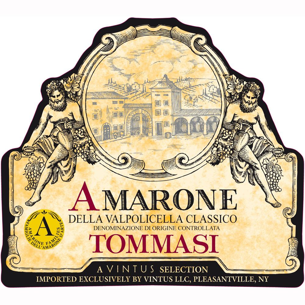Tommasi Amarone 2008 Front Label