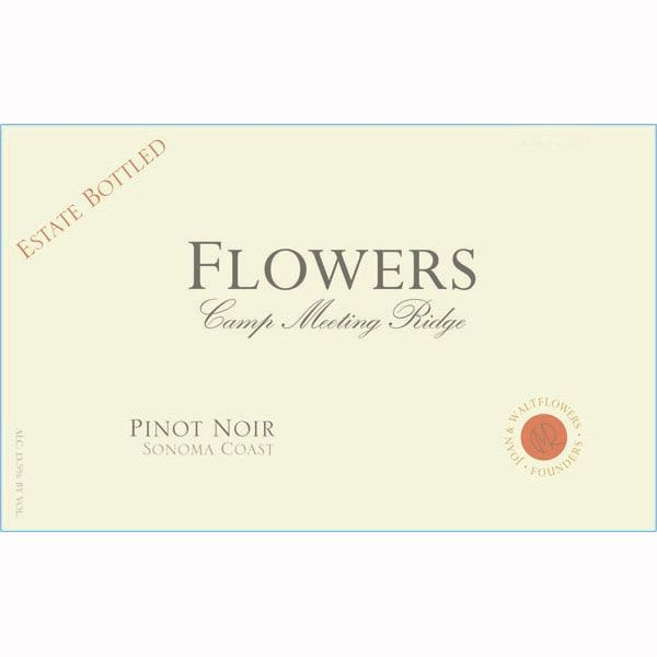 Flowers Camp Meeting Ridge Pinot Noir 2009 Front Label