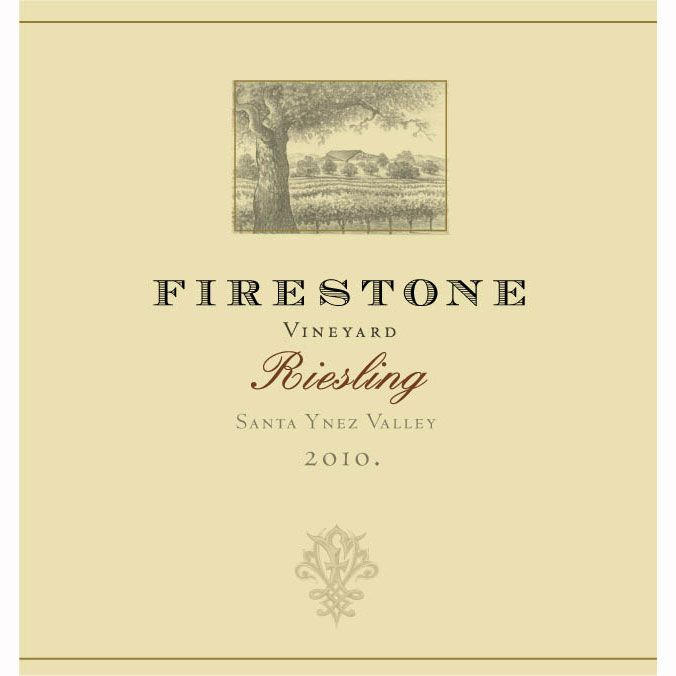 Firestone Riesling 2010 Front Label