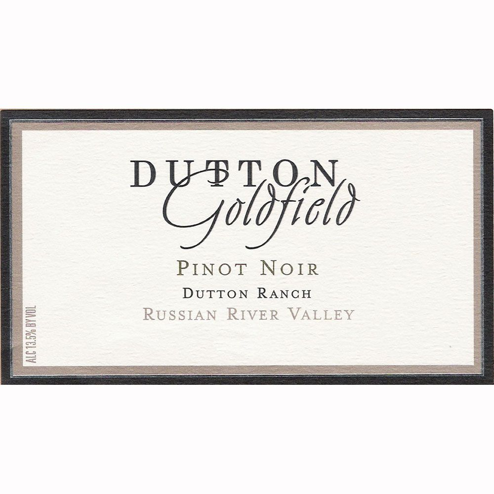 Dutton-Goldfield Dutton Ranch Pinot Noir 2010 Front Label