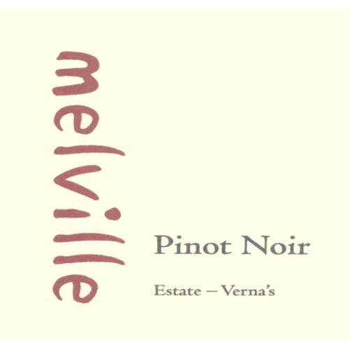 Melville Estate Verna's Pinot Noir 2010 Front Label