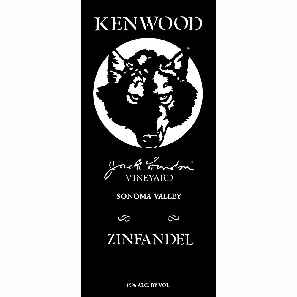 Kenwood Jack London Vineyard Zinfandel 2010 Front Label