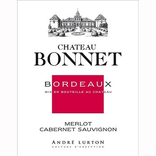Chateau Bonnet Rouge 2009 Front Label
