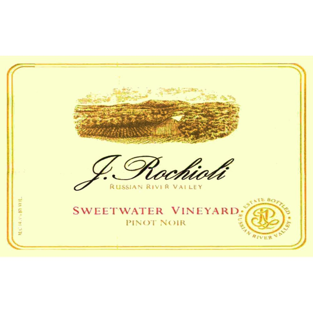 Rochioli Sweetwater Pinot Noir 2010 Front Label