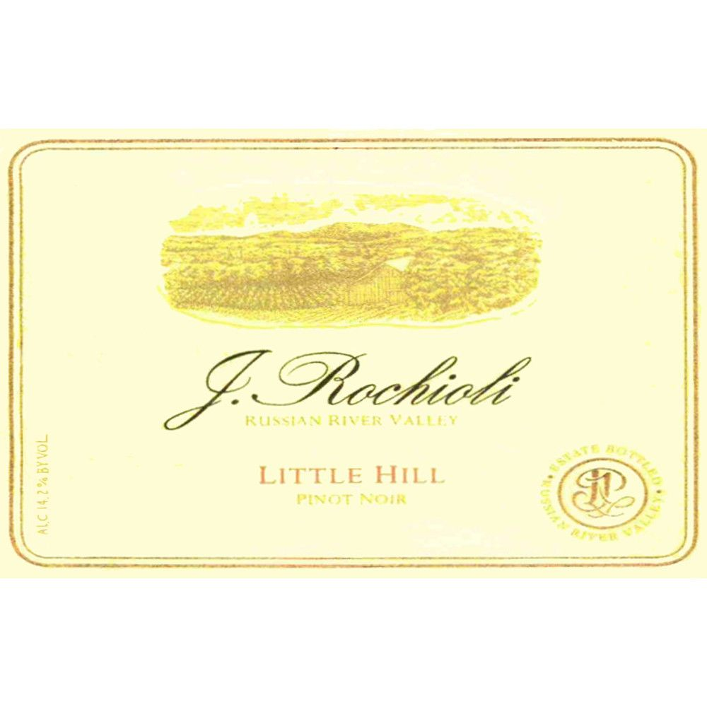 Rochioli Little Hill Pinot Noir 2010 Front Label