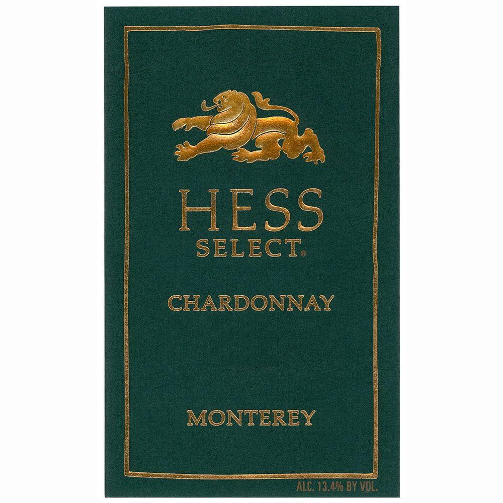 Hess Select Chardonnay (375ML half-bottle) 2009 Front Label