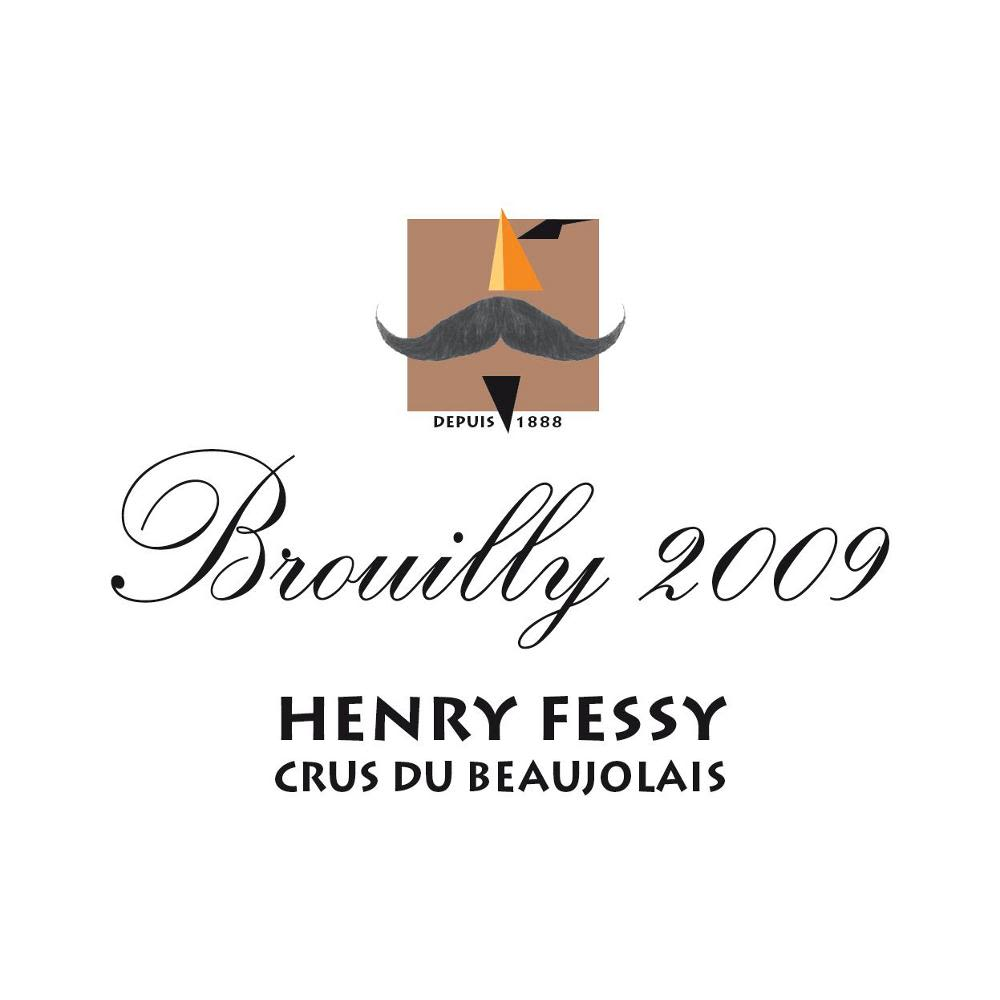 Henry Fessy Brouilly 2009 Front Label