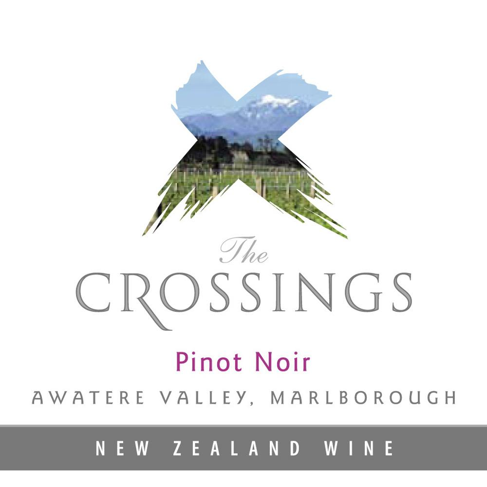 The Crossings Pinot Noir 2010 Front Label