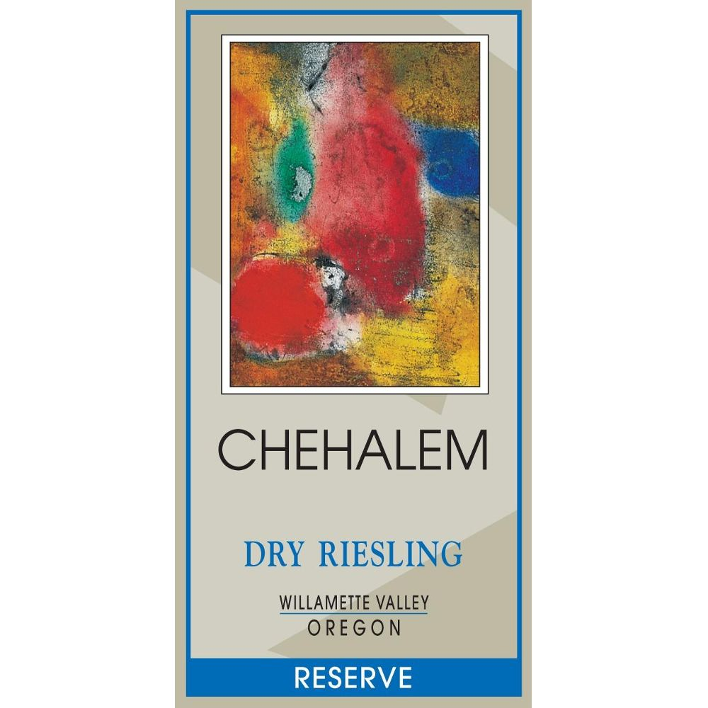 Chehalem Dry Riesling Reserve 2010 Front Label
