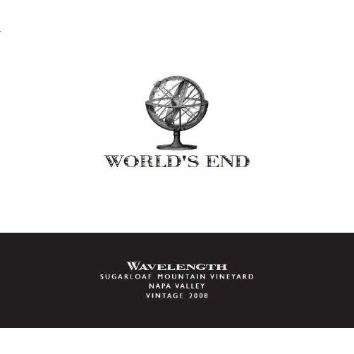 World's End Wavelength 2008 Front Label