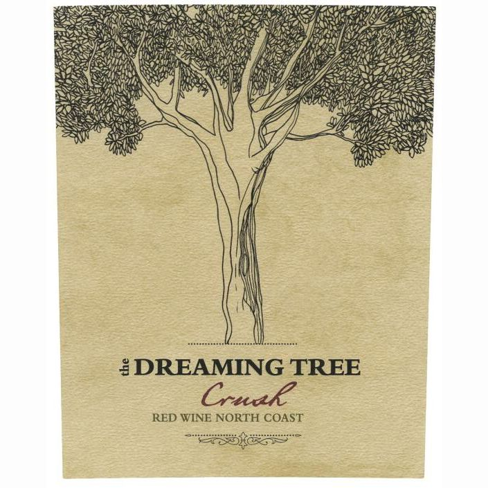The Dreaming Tree Crush Red Blend 2010 Front Label