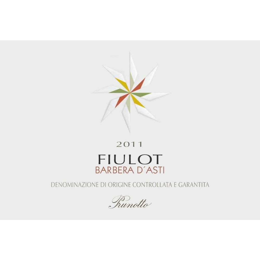 Prunotto Fiulot Barbera d'Asti 2011 Front Label