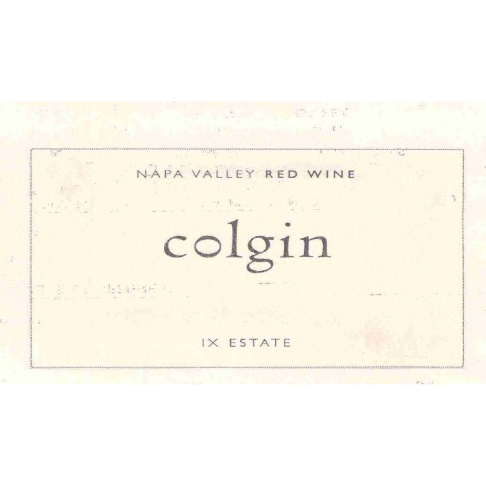 Colgin IX Estate Red 2004 Front Label