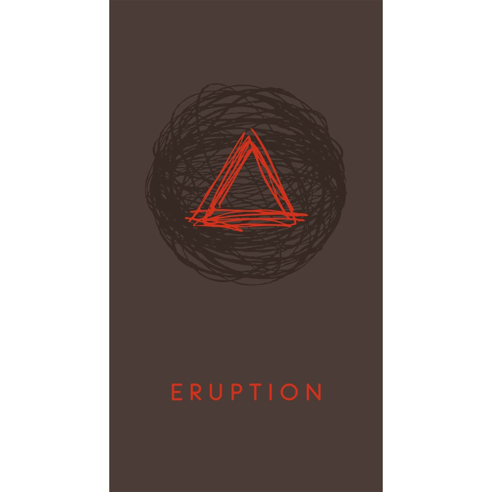 Brassfield Eruption Red Blend 2010 Front Label