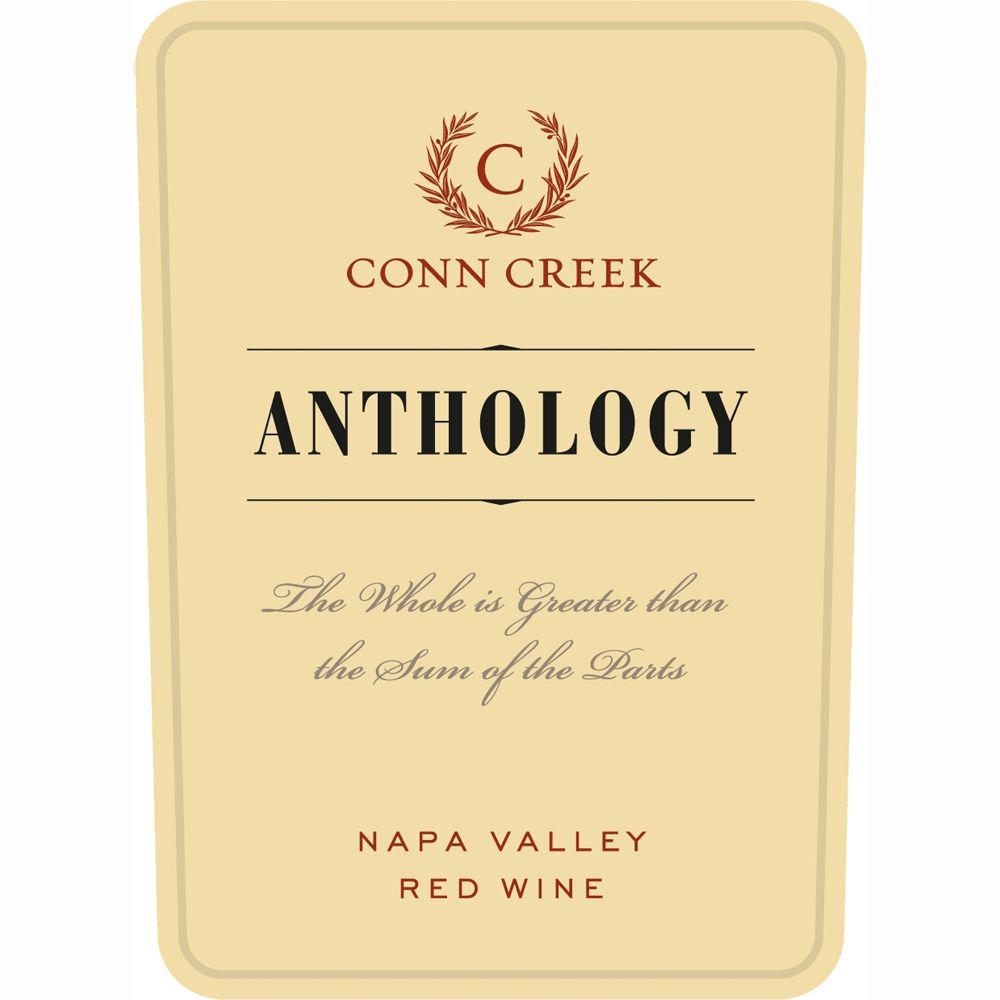 Conn Creek Anthology 2008 Front Label