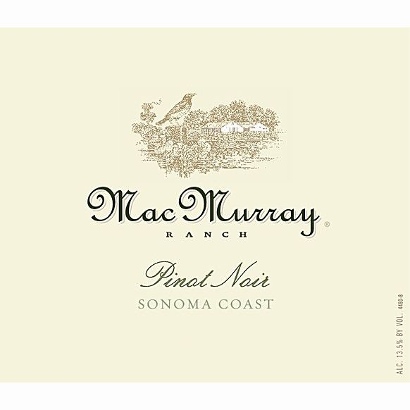 MacMurray Ranch Russian River Pinot Noir 2010 Front Label