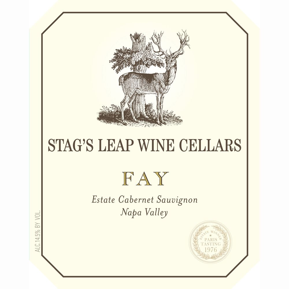 Stag's Leap Wine Cellars Fay Vineyard Cabernet Sauvignon 2009 Front Label