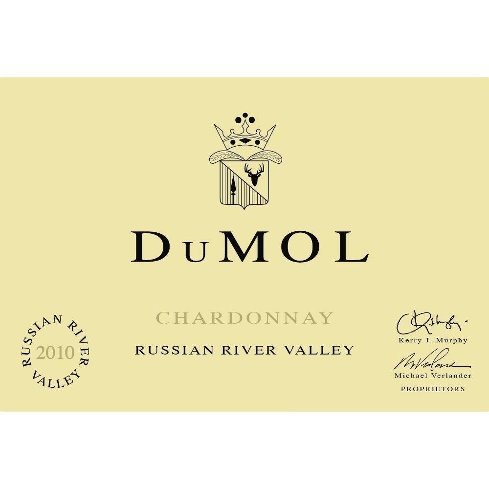 DuMOL Russian River Valley Chardonnay 2010 Front Label