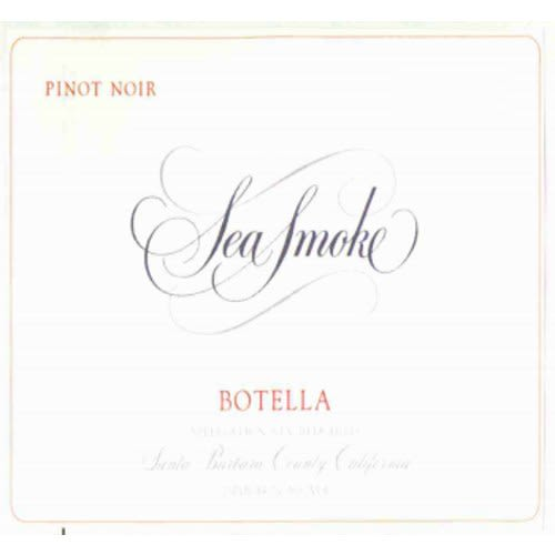Sea Smoke Cellars Botella Pinot Noir 2008 Front Label