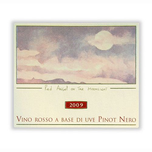 Jermann Red Angel in the Moonlight Pinot Noir (375ML) 2009 Front Label