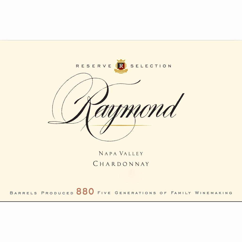 Raymond Reserve Selection Chardonnay 2011 Front Label