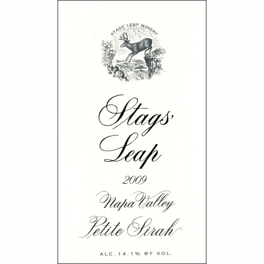 Stags' Leap Winery Petite Sirah 2009 Front Label