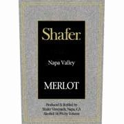 Shafer Napa Valley Merlot (375ML half-bottle) 2010 Front Label