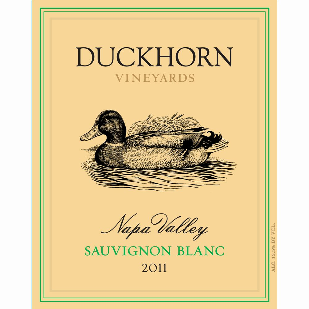 Duckhorn Sauvignon Blanc (375ML half-bottle) 2011 Front Label