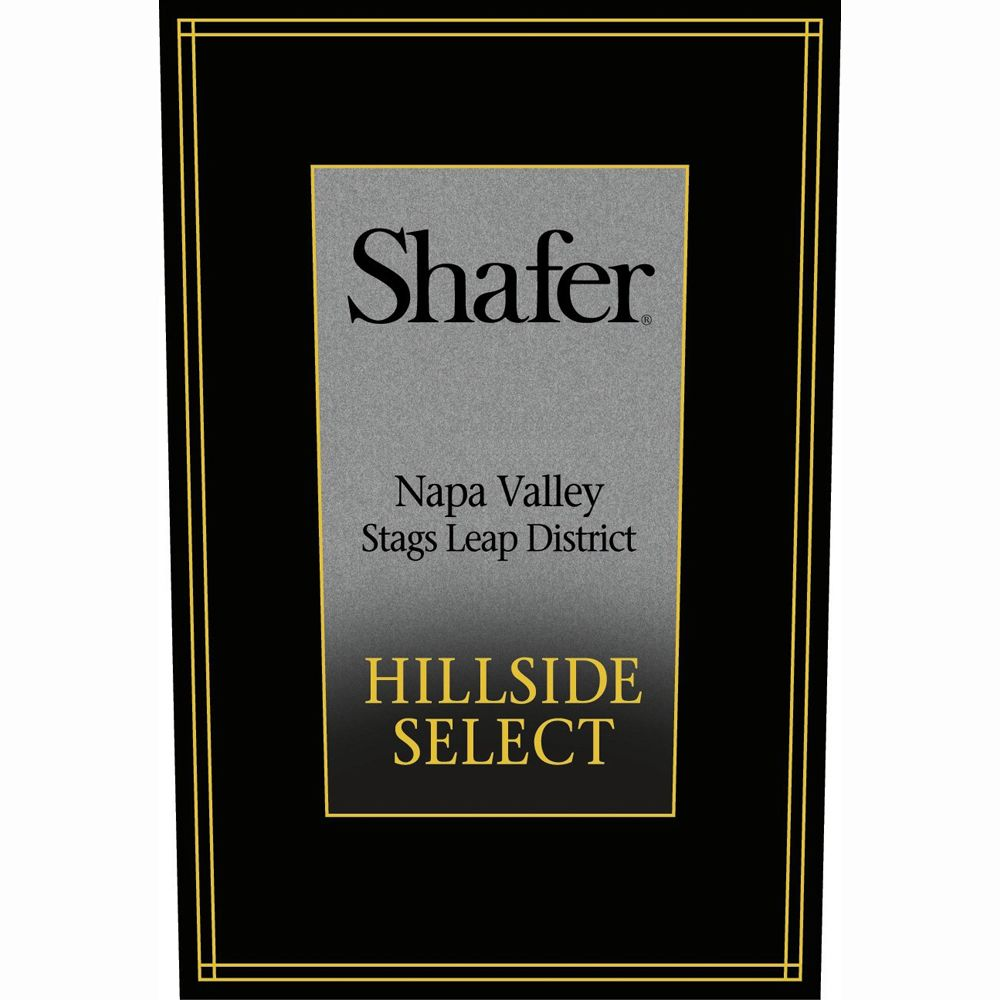 Shafer Hillside Select Cabernet Sauvignon 2008 Front Label