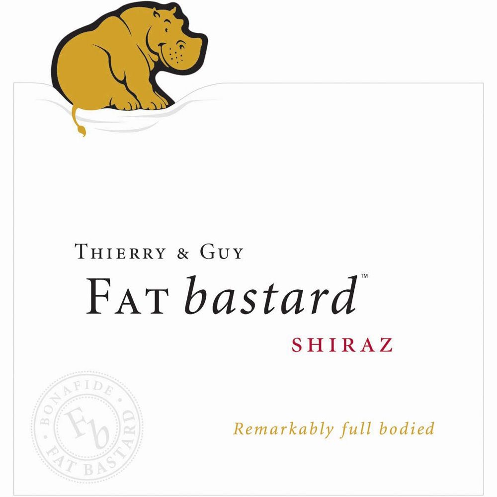 Fat Bastard Shiraz 2011 Front Label