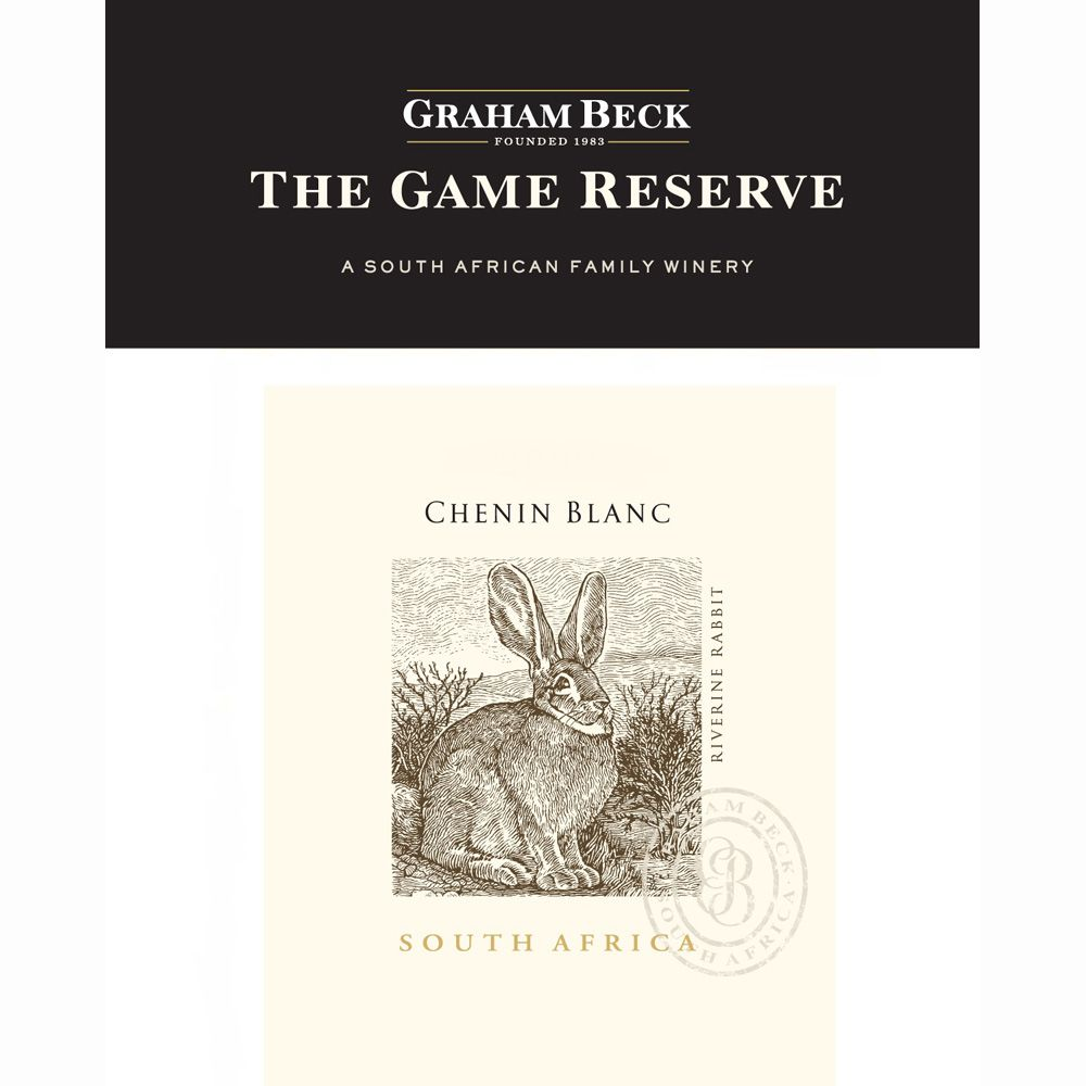 Graham Beck Game Reserve Chenin Blanc 2011 Front Label