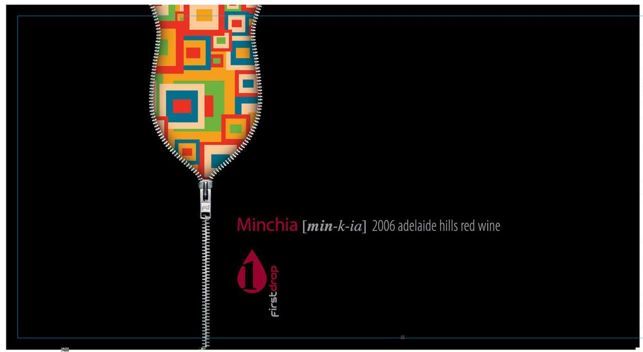 First Drop Minchia Montepulciano 2006 Front Label