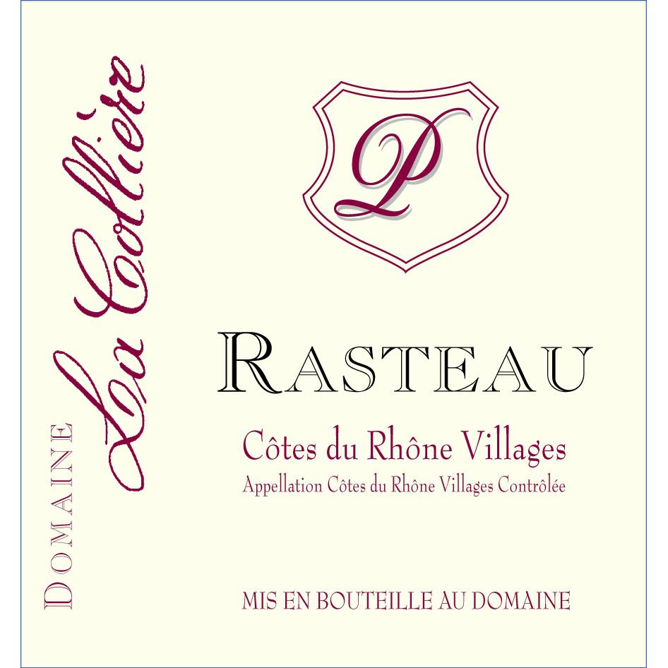 La Colliere Rasteau 2011 Front Label