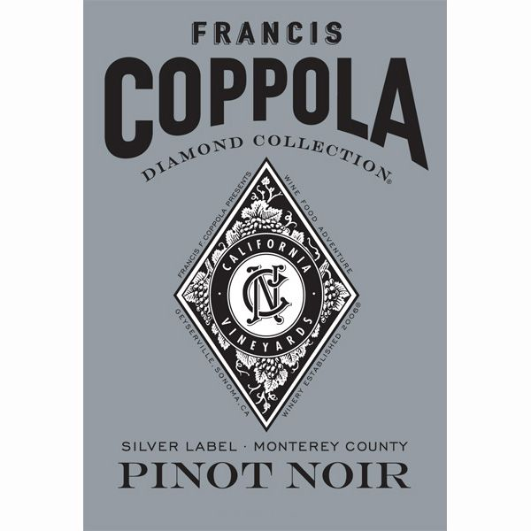 Francis Ford Coppola Diamond Collection Pinot Noir 2011 Front Label