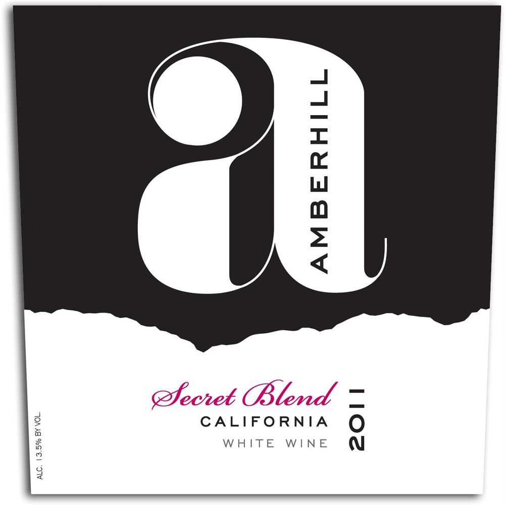 Amberhill Secret White Blend 2011 Front Label