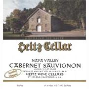 Heitz Cellar Martha's Vineyard Cabernet Sauvignon 1978 Front Label