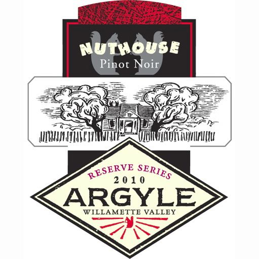 Argyle Nuthouse Pinot Noir 2010 Front Label