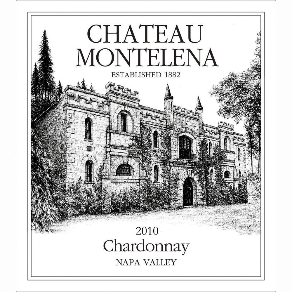 Chateau Montelena Napa Valley Chardonnay 2010 Front Label