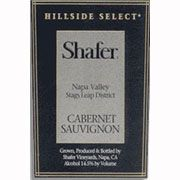 Shafer Hillside Select Cabernet Sauvignon 1992 Front Label