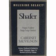 Shafer Hillside Select Cabernet Sauvignon 1993 Front Label