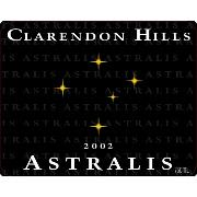 Clarendon Hills Astralis Syrah 2002 Front Label