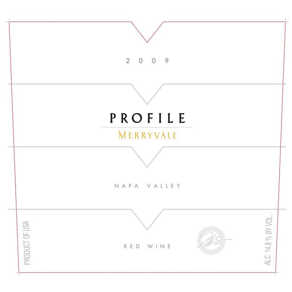 Merryvale Profile 2009 Front Label