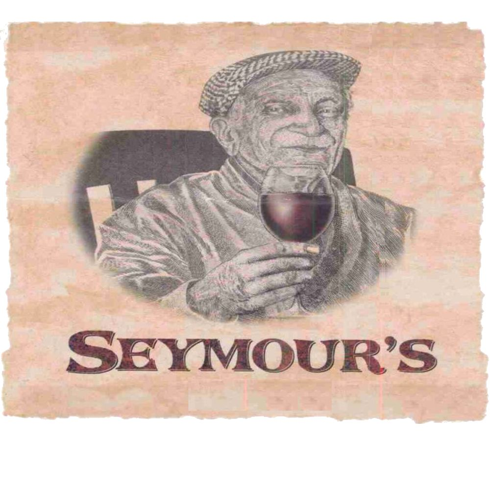 Alban Seymour's Vineyard Syrah 2002 Front Label