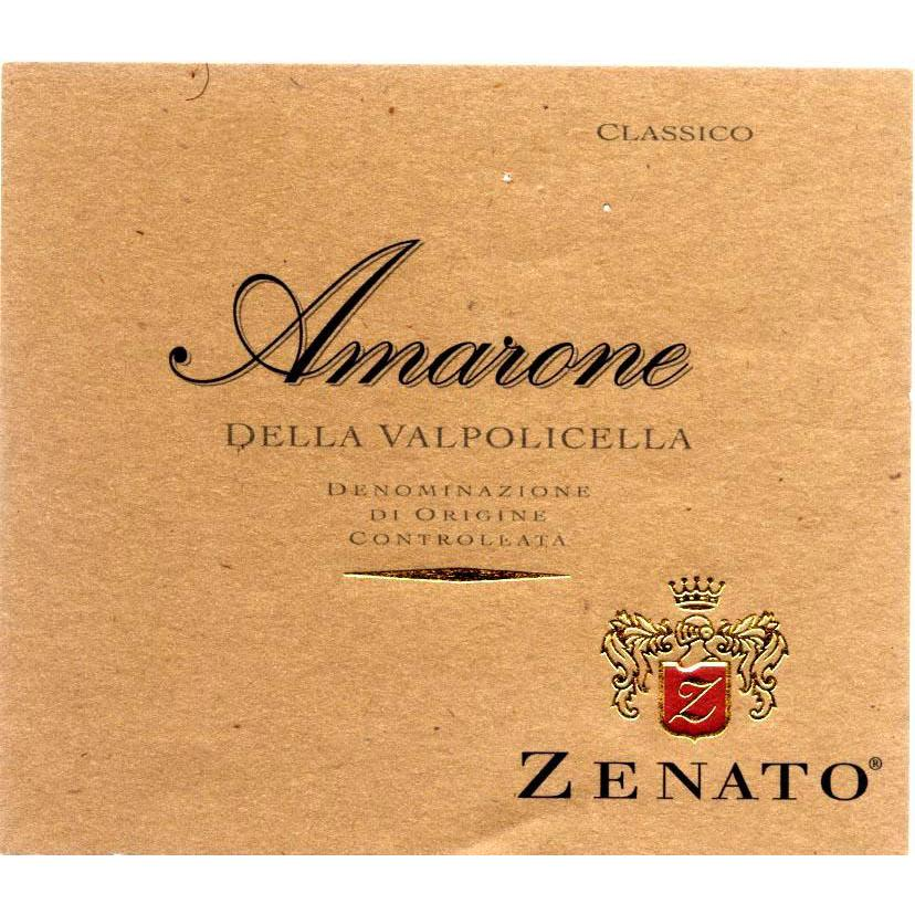 Zenato Amarone 2008 Front Label
